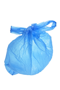 Blue Plastic Shopping Bag resized 600