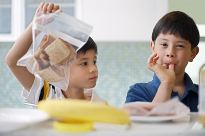 The Value of Plastic Packaging - School Lunches