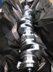Protective packaging crank