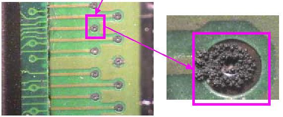 Electronics corrosion