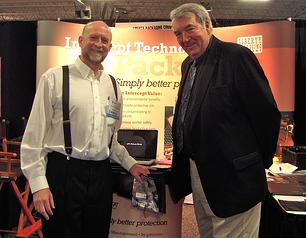 Joe Spitz and John Murphy of Liberty Packaging