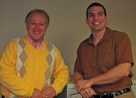 EMI President Keith Donaldson and Albert Greenhut, EMI Sales and Marketing