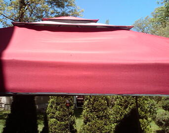 Fabric Tent Cover