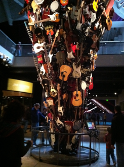 Experience Music Project Guitar Sculpture