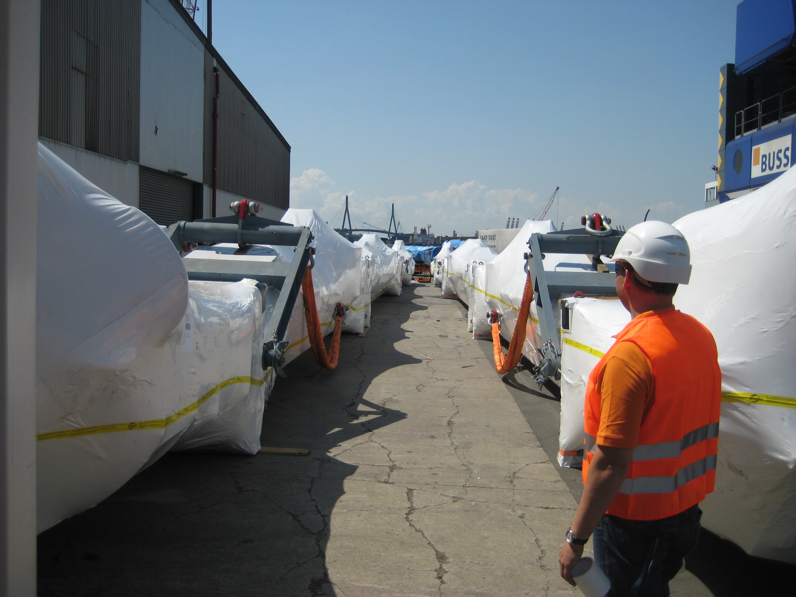 Intercept Technology Shrink Wrap is the ultimate in corrosion protection