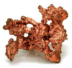 Native Copper Magnified