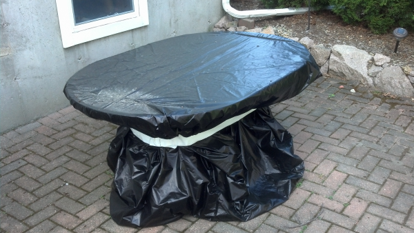 Intercept Packaging Protection - Creative Uses at Home - Patio Table