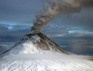 Volcanic pollution