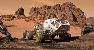 The Rust Planet - Mars