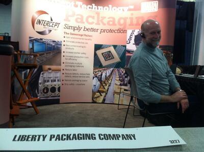 Joe Spitz Liberty Packaging EASTEC