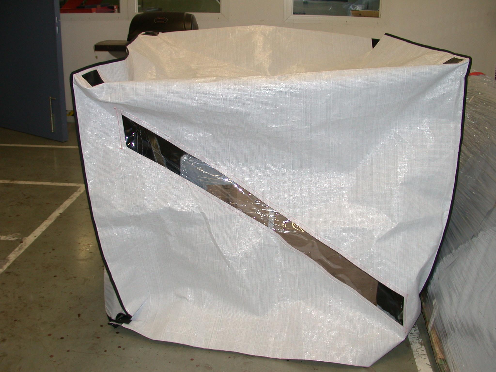 New Intercept Woven Material - Innovative Packaging