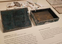 Boston 1795 time capsule box