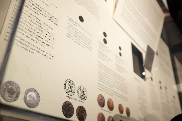 Boston 1795 time capsule display case