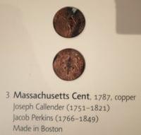 Boston 1795 time capsule Massachusetts Cent
