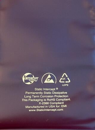 Static Intercept bags are ideal for small electronics