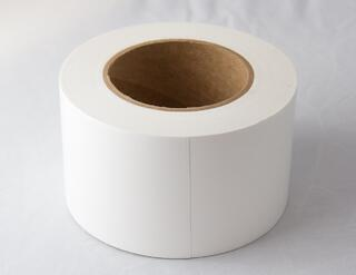 Hull tape is useful alone or as preparation for heat shrinking
