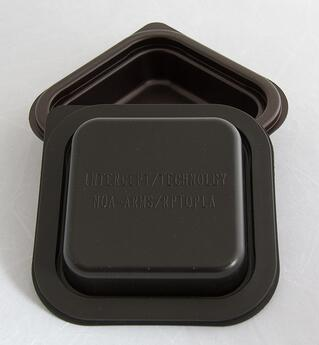 Static Intercept can be thermoformed into containers and lids