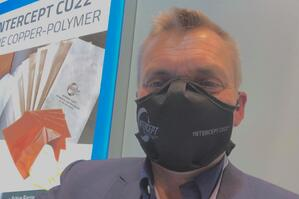 Wearing INTERCEPT CU22 Mask
